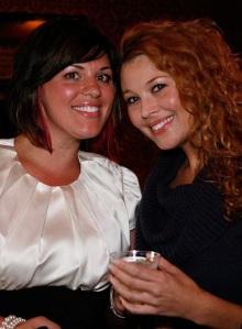 Christine D'Abrosca (L) & Silameth Weir (R)