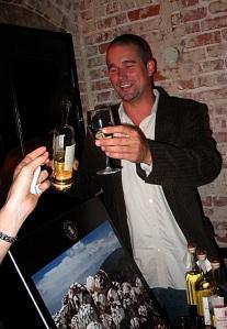 Tequila Ocho brand ambassador Scott Maro.